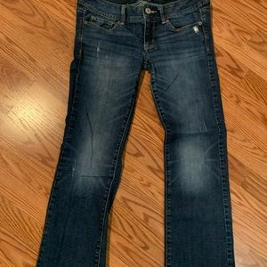 American Eagle slim boot size 8 Jeans